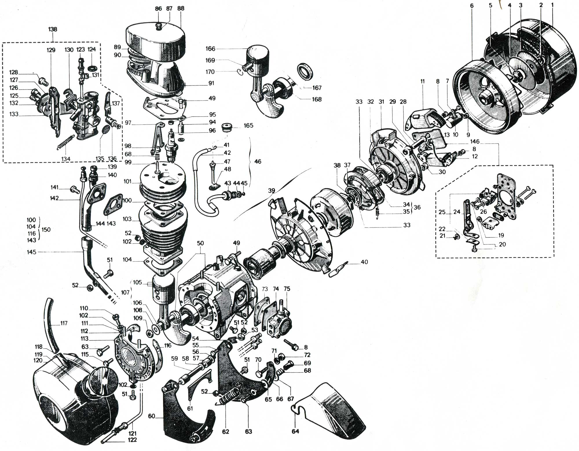 vw type 3 carburetor diagram